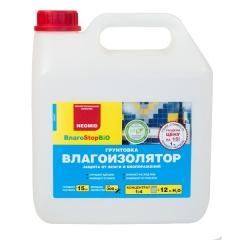 Грунт 1:4 (3 л) Neomid влагоизолятор с добавлением биоцида/голубой/ (1/3)