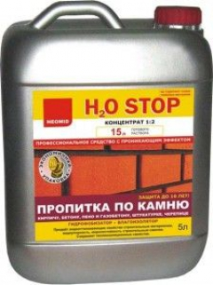 Препарат Неомид H2O-СТОП (5 л) гидрофобизатор