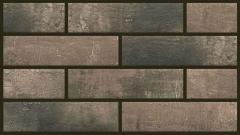 Термопанель фасадная с клинкерной плиткой Loft Brick Cardamom 2129. Размер 890*610 мм