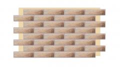 Термопанель фасадная с клинкерной плиткой Loft Brick Masala 2082. Размер 890*610 мм