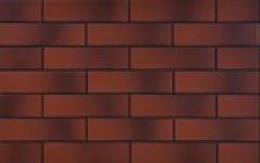 Термопанель фасадная с клинкерной плиткой Rot 9546 с оттенком. Размер 890*610 мм