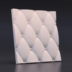 Искусственный камень 3D панель Кожа вытянутая: