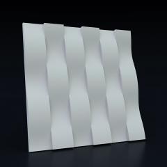 Искусственный камень 3D панель Ламелия: