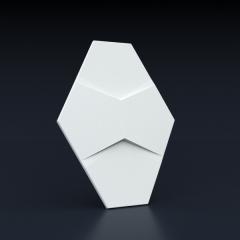 Искусственный камень 3D панель Пента: