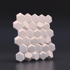 Искусственный камень 3D панель Рози: