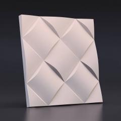 Искусственный камень 3D панель Ротанг: